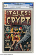 Golden Age (1938-1955):Horror, Tales From the Crypt #41 Gaines File pedigree 9/12 (EC, 1954) CGCVF+ 8.5 Cream to off-white pages. Jack Davis drew this iss...
