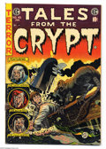 Golden Age (1938-1955):Horror, Tales From the Crypt #45 (EC, 1954) Condition: VG+. Jack Daviscover. Davis, Jack Kamen, Bernie Krigstein, and Graham Ingels...