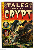 Golden Age (1938-1955):Horror, Tales From the Crypt #45 (EC, 1954) Condition: GD/VG. Jack Daviscover. Davis, Jack Kamen, Bernie Krigstein and Graham Ingel...