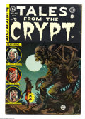 Golden Age (1938-1955):Horror, Tales From the Crypt #46 (EC, 1955) Condition: VG+. Last issue ofthe title. Low distribution according to Overstreet. Conte...