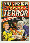 Golden Age (1938-1955):Horror, Three Dimensional Tales from the Crypt of Terror #2 (EC, 1954)Condition: GD/VG. Al Feldstein cover. Includes 3-D glasses. S...