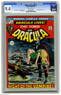 Bronze Age (1970-1979):Horror, Tomb of Dracula #1 (Marvel, 1972) CGC NM 9.4 Off-white pages. Firstappearance of Dracula and Frank Drake. Neal Adams cover ...
