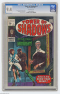 Silver Age (1956-1969):Horror, Tower of Shadows #1 (Marvel, 1969) CGC NM 9.4 Off-white pages. JohnRomita Sr. cover art. Jim Steranko, John Buscema, and Jo...