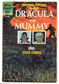 Silver Age (1956-1969):Horror, Universal Pictures Presents Dracula and The Mummy Plus OtherStories (Dell, 1963) Condition: FN-. Overstreet 2004 FN 6.0 val...