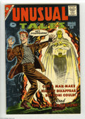 Silver Age (1956-1969):Horror, Unusual Tales #16 Bethlehem pedigree (Charlton, 1959) Condition:Qualified NM-. Top staple popped. Includes a certificate of...