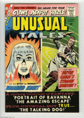 Silver Age (1956-1969):Horror, Unusual Tales #17 White Mountain pedigree (Charlton, 1959)Condition: VF/NM. Overstreet 2004 VF/NM 9.0 value = $63; NM- 9.2...