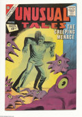 Silver Age (1956-1969):Horror, Unusual Tales #34 White Mountain pedigree (Charlton, 1962)Condition: NM-. Overstreet 2004 NM- 9.2 value = $45....