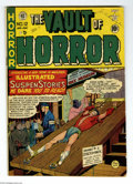 "Golden Age (1938-1955):Horror, Vault of Horror #12 (EC, 1950) Condition: VG-. First issue with""Vault of Horror"" title. Overstreet designates this issue as..."