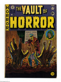 Golden Age (1938-1955):Horror, Vault of Horror #15 (EC, 1950) Condition: VG/FN. Johnny Craigcover. Craig, Jack Davis, Al Feldstein, Jack Kamen, and Graham...