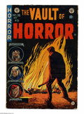 """Golden Age (1938-1955):Horror, Vault of Horror #36 (EC, 1954) Condition: VG-. Johnny Craig cover.Craig's story """"Twin Bill"""" was cited in an article by Fred..."""