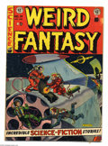 Golden Age (1938-1955):Science Fiction, Weird Fantasy #14 (EC, 1952) Condition: VG. Al Feldstein cover.Frank Frazetta/Al Williamson (first team-up at EC), Jack Kam...