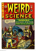 Golden Age (1938-1955):Science Fiction, Weird Science 14 (#3) (EC, 1950) Condition: VG. Robot End of theWorld cover and story by Al Feldstein. Jack Kamen, and Harv...