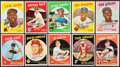 Baseball Cards:Lots, 1959 Topps Baseball Collection (261) With Stars. ...