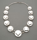 Jewelry, A Graziella Laffi Silver Necklace, Lima, Peru, circa 1965. 24 inches (61.0 cm). .72 troy ounces. PROPERTY FROM THE FAMILY ...