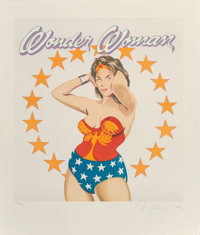 Mel Ramos (1935-2018) Wonder Woman, 1981 Lithograph in colors on paper 24 x 20-1/2 inches (61 x 52.1 cm) (sheet) Ed