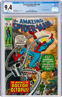 The Amazing Spider-Man #88 (Marvel, 1970) CGC NM 9.4 White pages
