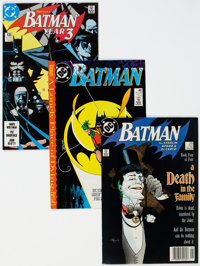 Batman Group of 12 (DC, 1989-90) Condition: Average NM-.... (Total: 12 Comic Books)