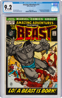 Amazing Adventures #11 (Marvel, 1972) CGC NM- 9.2 Off-white to white pages