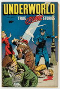 Golden Age (1938-1955):Crime, Underworld #1 (D.S. Publishing, 1948) Condition: VG/FN.