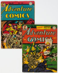 Adventure Comics #82 and 95 Group (DC, 1944) Condition: Average FR/GD.... (Total: 2)
