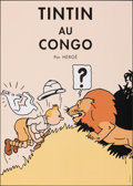 """Movie Posters:Foreign, Tintin in the Congo (2019). Rolled, Very Fine+. Belgian Commercial Poster (19.5"""" X 27.5""""). Foreign.. ..."""