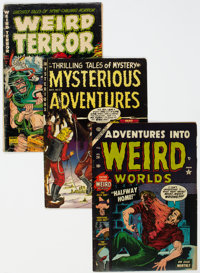 Horror Group of 4 (Various, 1952-56).... (Total: 4 Comic Books)