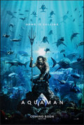 """Movie Posters:Action, Aquaman (Warner Bros., 2018). Rolled, Very Fine/Near Mint. One Sheet (27"""" X 40"""") DS Advance. Action.. ..."""