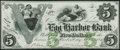 Egg Harbor City, NJ- Egg Harbor Bank $5 Oct. 1, 1861 Crisp Uncirculated