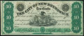 New Brunswick, NJ- City of New Brunswick 10¢ Dec. 1, 1862 Crisp Uncirculated