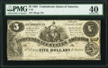 T36 $5 1861 PF-3 Cr. 276 PMG Extremely Fine 40