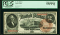 Large Size:Legal Tender Notes, Fr. 51 $2 1880 Legal Tender PCGS Choice About New 55PPQ.. ...