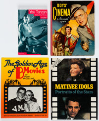 Movie Related Hardcover Books Group of 14 (Various Publishers, 1948-93) Condition: Average FN/VF.... (Total: 14 Items)