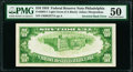 Fr. 2004-C $10 1934 Light Green Seal Federal Reserve Note. PMG About Uncirculated 50