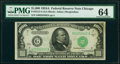 Small Size:Federal Reserve Notes, Fr. 2212-G $1,000 1934A Federal Reserve Note. PMG Choice U...