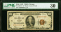 Low Serial Number 86 Fr. 1890-G* $100 1929 Federal Reserve Bank Note. PMG Very Fine 30