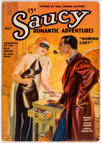 Saucy Romantic Adventures - May 1936 (Fiction Magazines) Condition: Apparent GD/VG