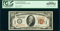 Fr. 2303 $10 1934A Hawaii Federal Reserve Note. PCGS Gem New 66PPQ