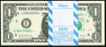 Fr. 3004-E* $1 2017 Federal Reserve Star Notes. Original Pack of 100. Gem Crisp Uncirculated. ... (Total: 100 notes)