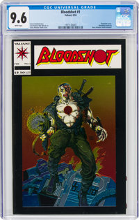 Bloodshot #1 (Valiant, 1993) CGC NM+ 9.6 White pages