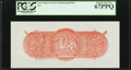 CSA - Straker & Sons Chemicograph Back Proposed for 1864 $10 Note. PCGS Superb Gem New 67PPQ