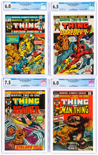 Marvel Bronze Age CGC-Graded Comics Group of 7 (Marvel, 1974-79).... (Total: 7 )