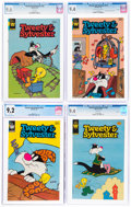 Modern Age (1980-Present):Cartoon Character, Tweety and Sylvester CGC-Graded Group of 5 (K.K. Publications/Whitman, 1967-84).... (Total: 5 Comic Books)