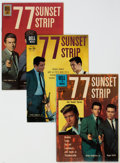 Silver Age (1956-1969):Adventure, Four Color - 77 Sunset Strip Group of 3 (Dell, 1960-61) Condition: Average VF.... (Total: 3 Comic Books)