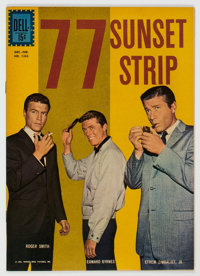 Four Color #1263 77 Sunset Strip (Dell, 1961) Condition: NM