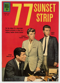 Four Color #1291 77 Sunset Strip (Dell, 1962) Condition: NM-
