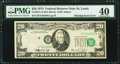 Error Notes:Shifted Third Printing, Shifted Third Printing Error Fr. 2071-H $20 1974 Federal Reserve Note. PMG Extremely Fine 40.. ...