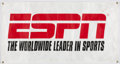 """Miscellaneous Collectibles:General, ESPN """"The Worldwide Leader in Sports"""" Banner...."""