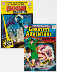 My Greatest Adventure #85/Doom Patrol #121 (DC, 1964-68) Condition: Average FN+.... (Total: 2)