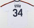 "Autographs:Jerseys, Nolan Ryan ""Don't Mess with Texas!"" Signed Houston Astros ..."