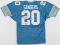 Autographs:Jerseys, Barry Sanders Signed No. 20 Jersey. Offered is an...